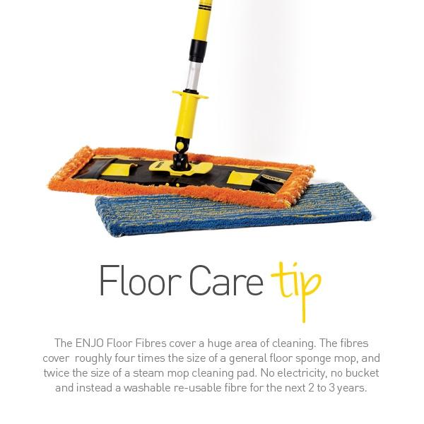 ENJO Floorcleaner - Floor Care Tip - Find it www.enjo.com.au