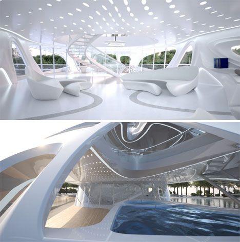 Zaha Hadid Superyacht 4 | Architect Zaha Hadid Architects ...