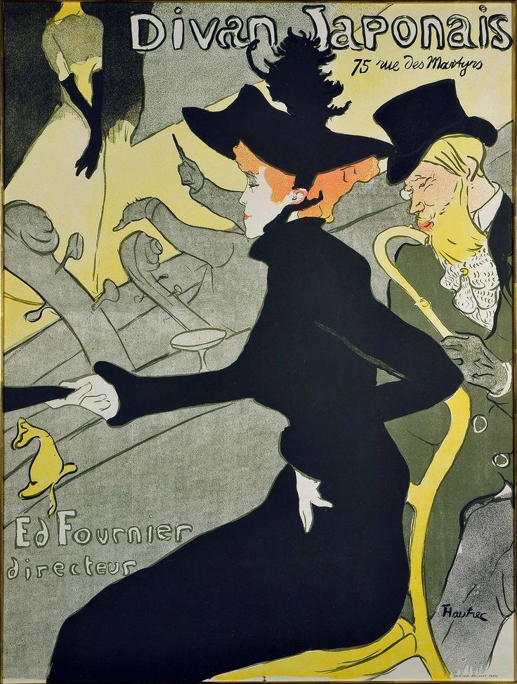 Jane Avril, 1895. Henri de Toulouse-Lautrec (1864-1901). Color lithograph. Herakleidon Museum, Athens, Greece