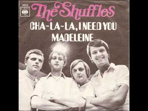 Albert West & The Shuffles - Cha la la I Need You 1969