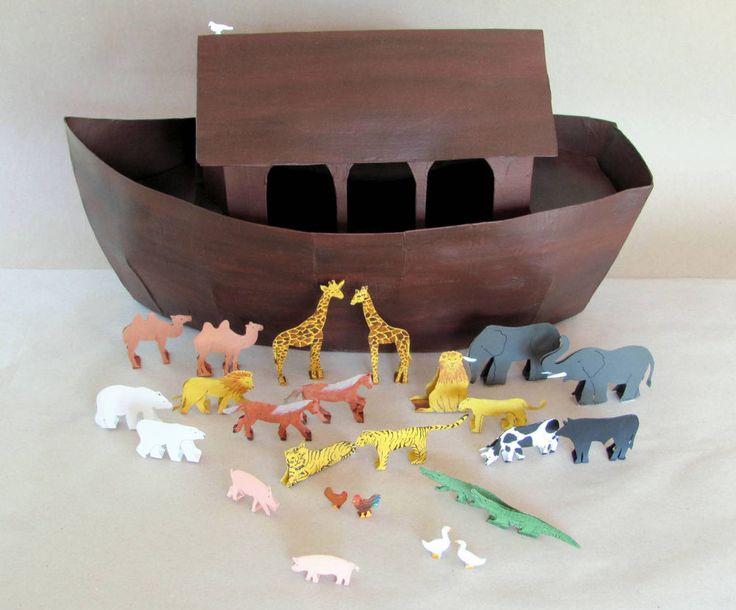Arche Noah, Bastelanleitung in Spielzeug, Basteln ...