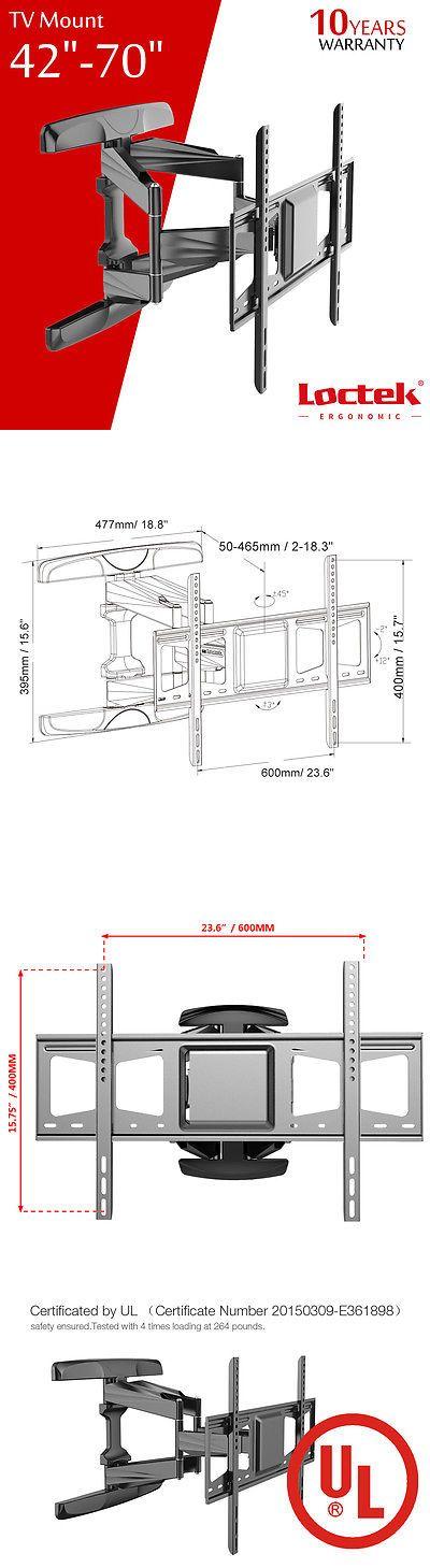 TV Mounts and Brackets: Lcd Led Flat Tilt Swivel Tv Wall Mount Bracket 42 47 50 55 60 65 70 For Samsung -> BUY IT NOW ONLY: $78.99 on eBay!