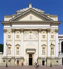 Kościół św Anny w Warszawie, Aigner, 2 poł XVIII