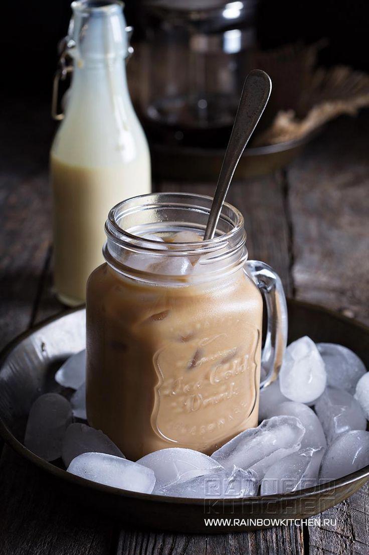 Кружка банка mason jar Ice cold Drinks 0.5l (герметичная крышка и многоразовая трубочка в подарок)