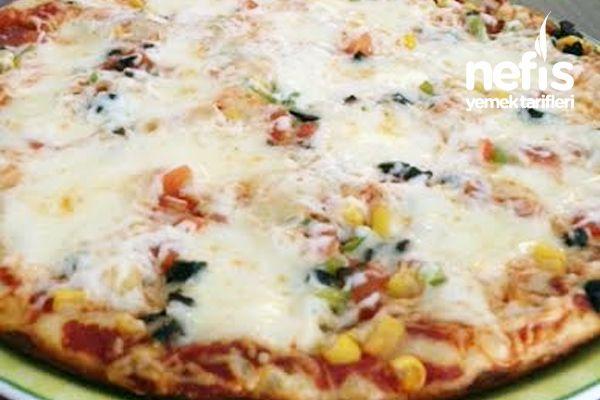 Tavada 16 Dakikada Pişen Pizza