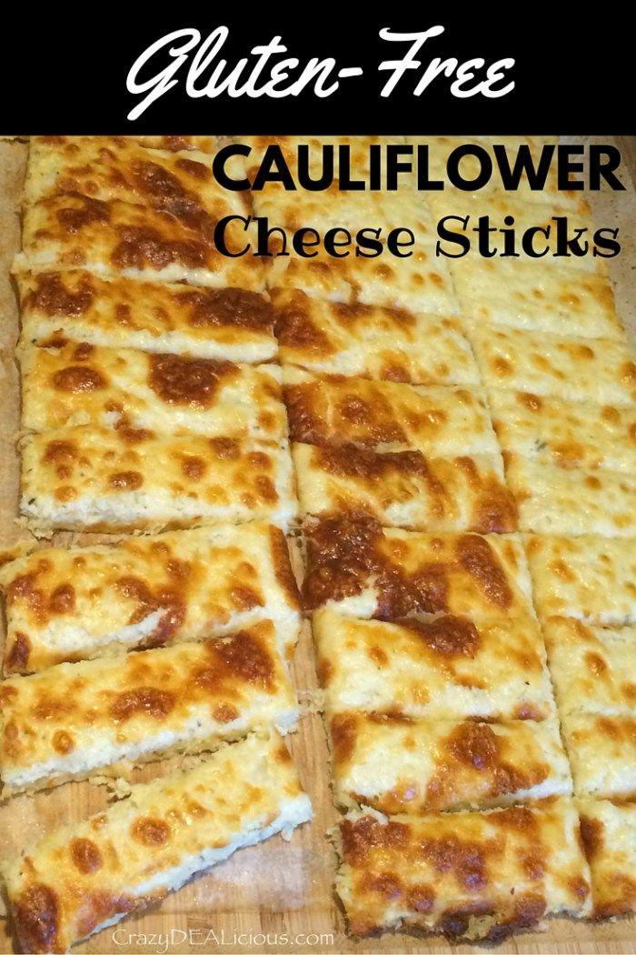Cauliflower Cheese Sticks at http://www.crazydealicious.com/cauliflower-cheese-sticks/