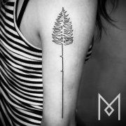 These Single-Line Tattoos Are Nothing Short of Beautiful