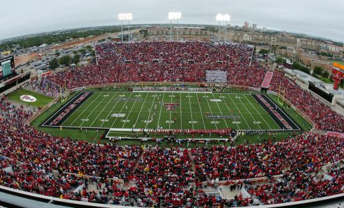 Texas Tech football...even if they stink, I still love 'em