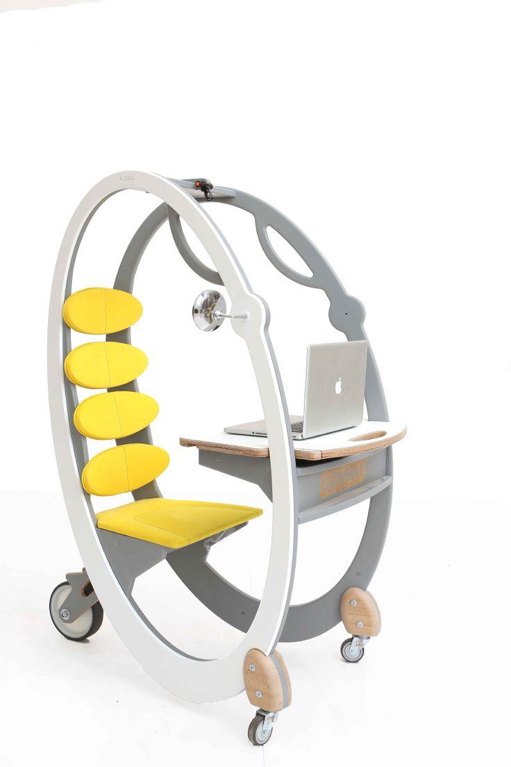 50 sleek funky and weird chair designs webdesigner depot and weird - Arseny Lubkov Mobile Workplace