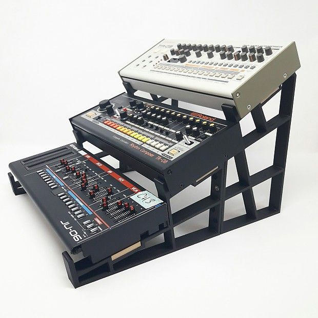 3DWAVES Triple Tier Stand For The Roland Boutique | Reverb