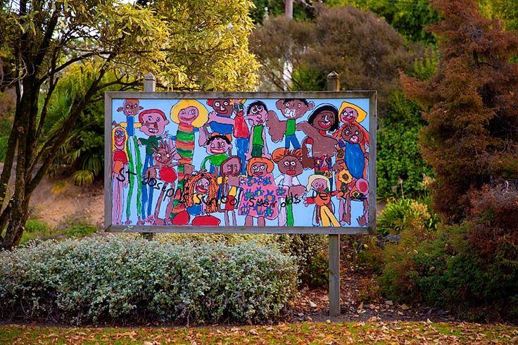Te Kuiti, street art,  see more at New Zealand Journeys app for iPad www.gopix.co.nz