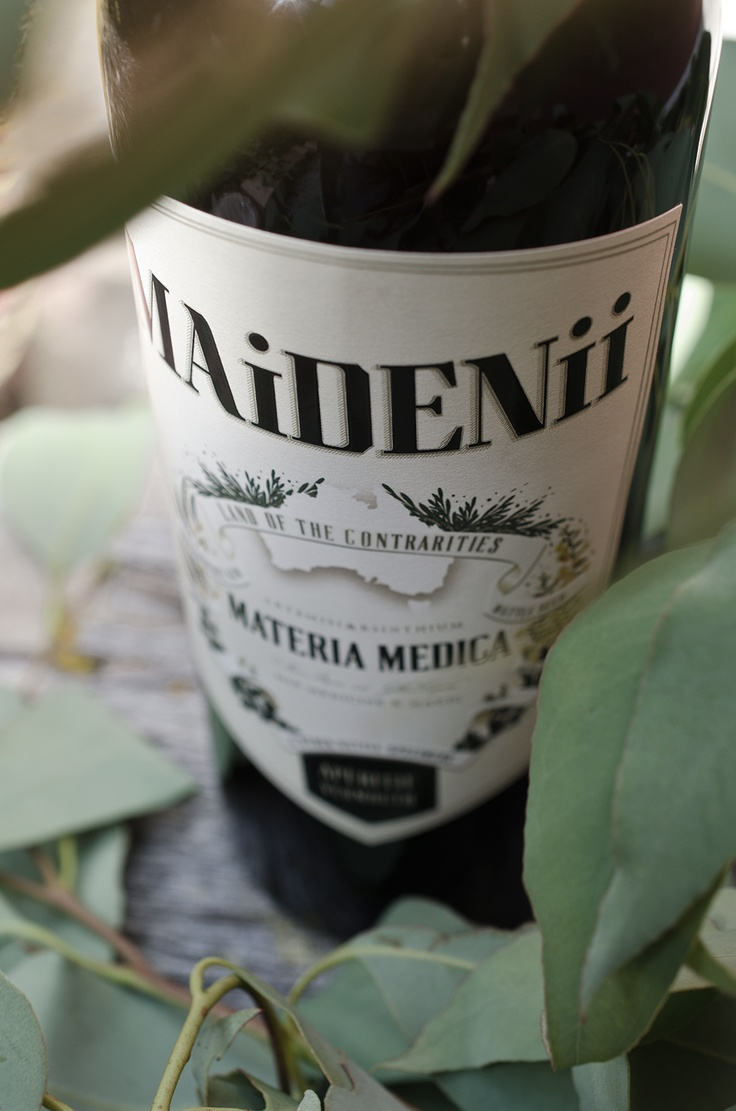Did you know if you drink a bottle of Maidenii vermouth, you wont get a hangover, because the botanicals have superpowers......Semi-true story