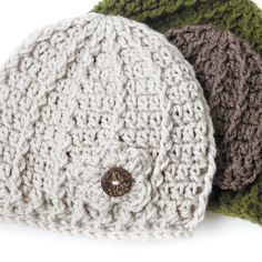 Free Crochet Beanie Pattern ⋆ Rescued Paw Designs Crochet by Krista Cagle