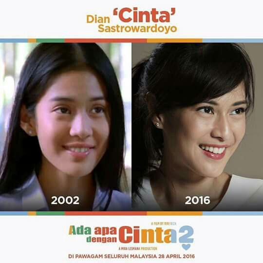 Dian Sastrowardoyo as Cinta