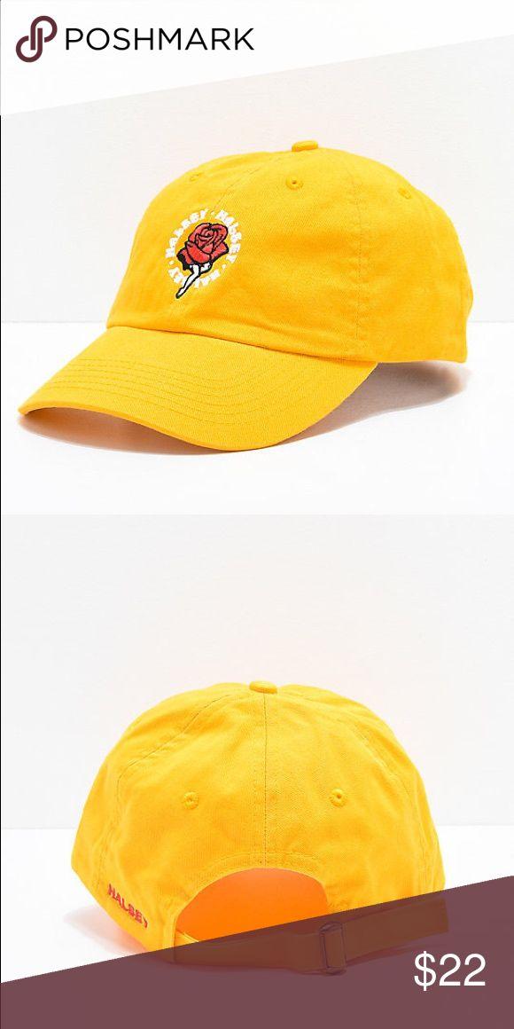 fea3f5e87c3b4 🌹✨ LAST ONE ✨🌹Halsey Yellow Women s Baseball Cap Zumiez x Halsey  Exclusive!!! Adjustable women s baseball hat in a super fun summer ye…