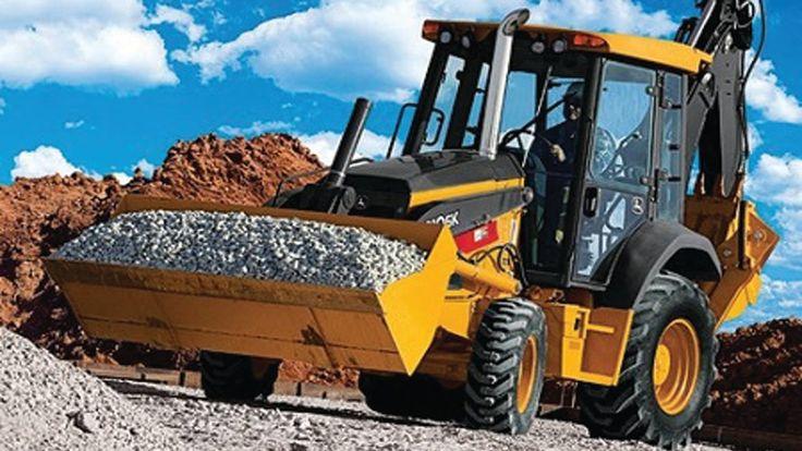 Camion del giocattolo per i bambini: Gru, Escavatori al lavoro giganti ✓...