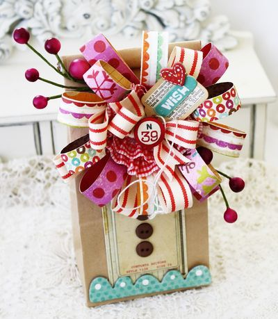 unlimited possibilities:): Paper Craft, Gift Wrapping, Paper Bows, Gifts, Wrapping Ideas, Crate Paper