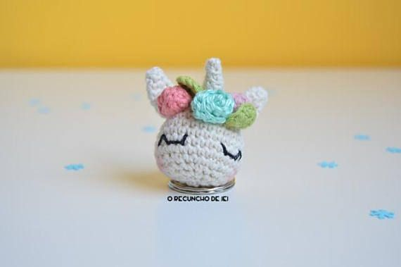 Amigurumis Unicornio Crochet Llavero en Mercado Libre Argentina | 379x570