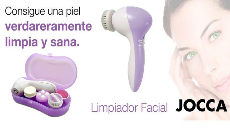Una piel increíble y perfecta... ¿Quieres? http://www.qualimail.es/limpiador-facial-electrico.html