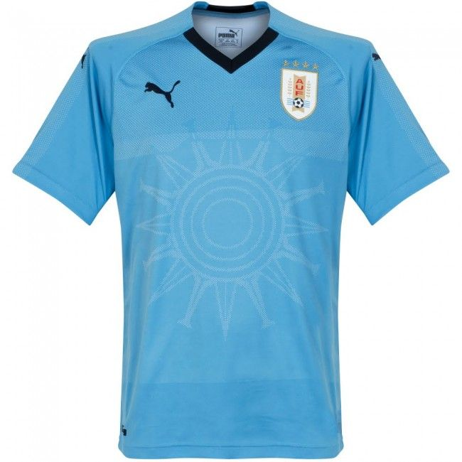 782e354d2d19c Camiseta de Uruguay 2018-2019 Local  uruguay  football  shirt  jersey