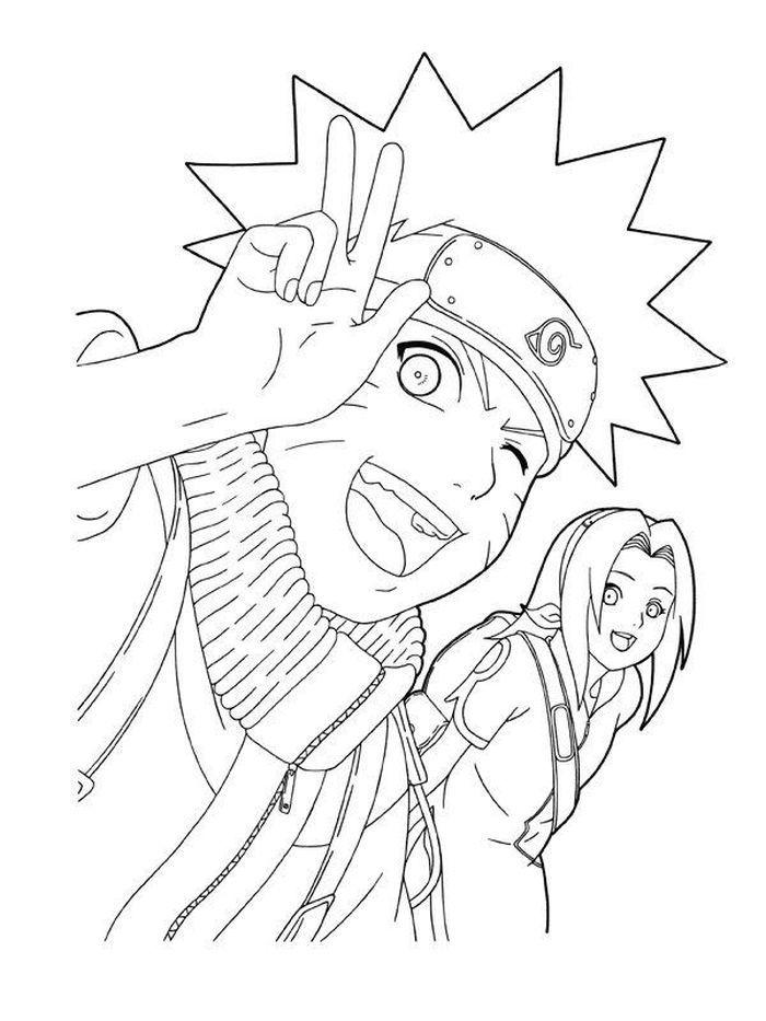 Naruto Coloring Pages Detaled Cartoon Coloring Pages Naruto Drawings Chibi Coloring Pages