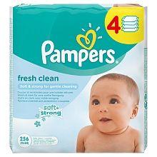 "Lingettes Pampers Fresh Clean 3x64 - Pampers - Babies""R""Us"