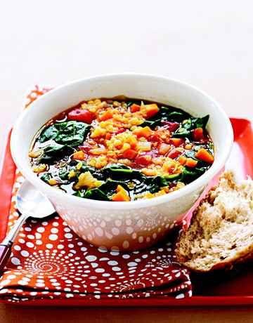 Lentil soup recipes vegetables lentil vegetable soup for Best lentil soup recipe in the world