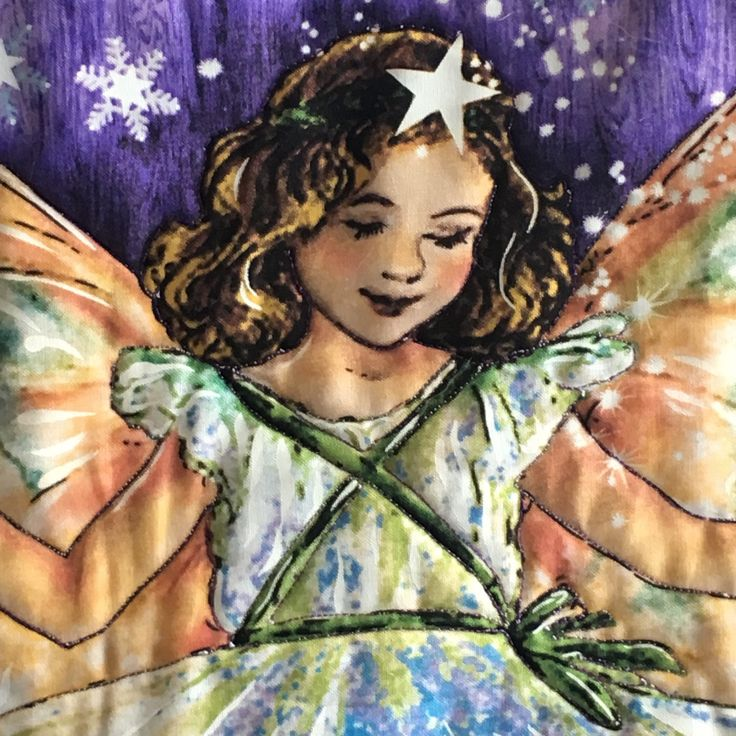 Single bed Handmade Quilt, Enchanted Fairies by Michael Miller. by TheQuiltedCheese on Etsy