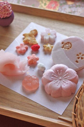 Japanese dry confections