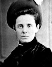 """Outlaw Belle Starr died in 1889, in what would become Oklahoma later that year. Her epitaph reads """"Shed not for her the bitter tear,  Nor give the heart to vain regret;  'Tis but the casket that lies here,  The gem that filled it sparkles yet."""""""