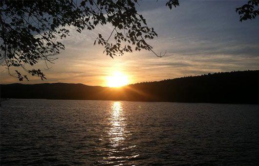 :   Sunset From Juanita Island  Photo Credit: Pat McCormack Smith