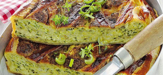 Quiche sans pâte aux courgettes Weight Watchers, légère et délicieuse, une recette vraiment facile et rapide à préparer pour un repas du soir.