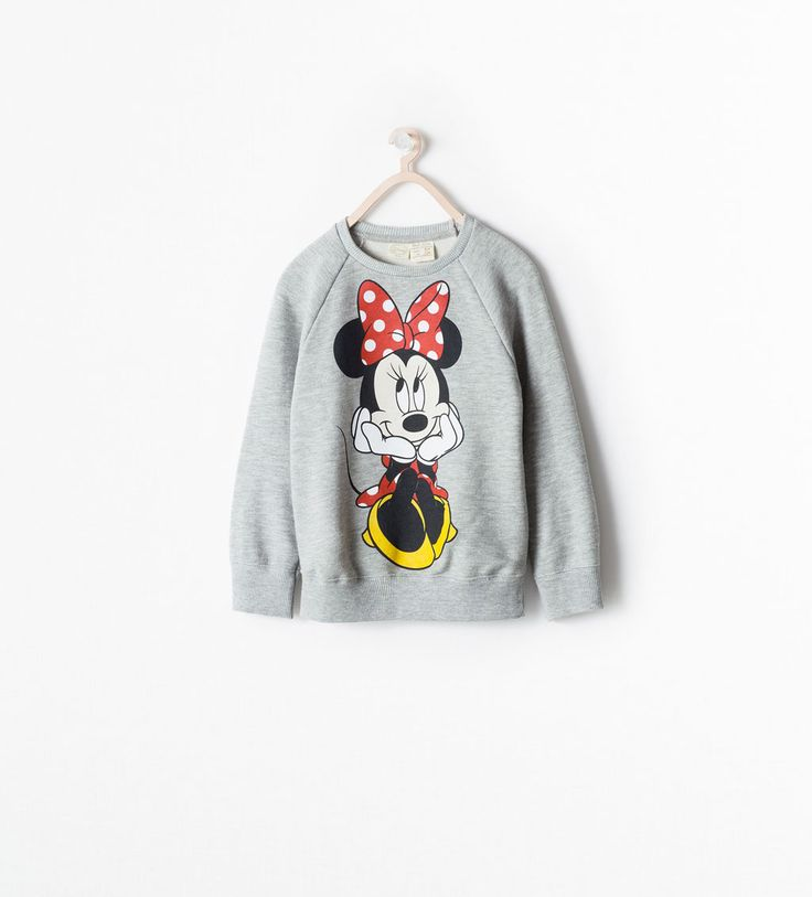 DISNEY SWEATSHIRT from Zara