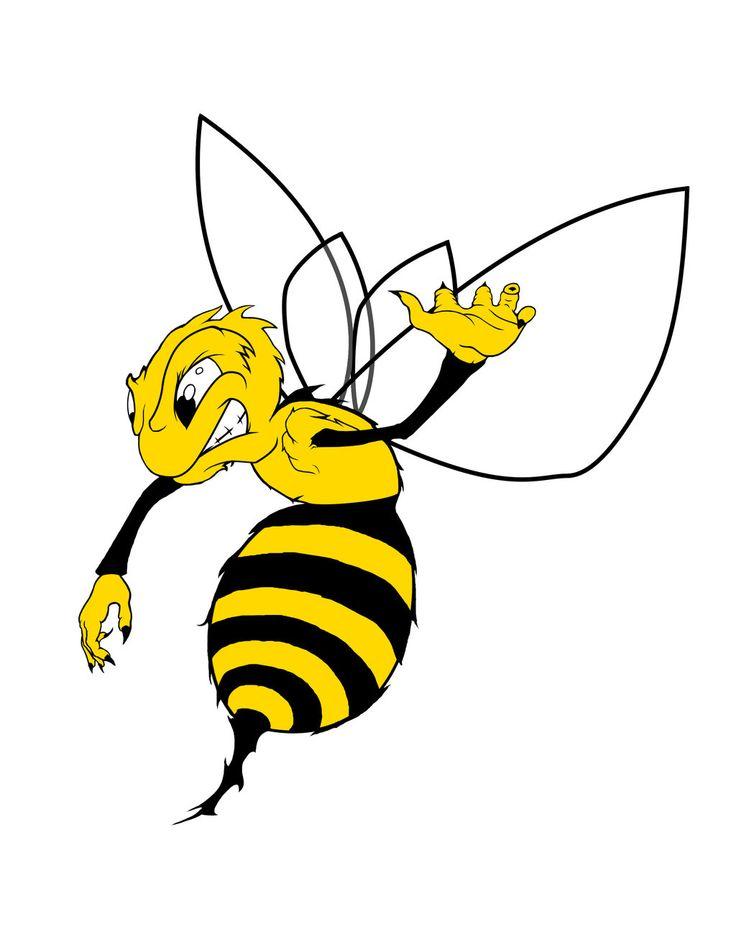 Пчела картинки для детей нарисованные