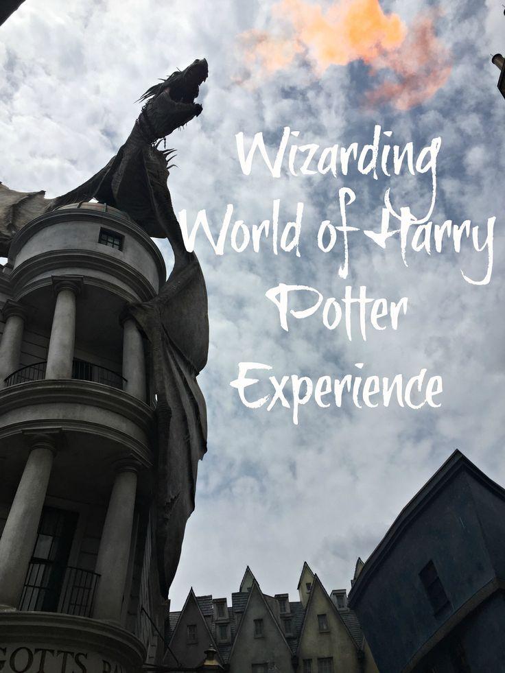 Wizarding World of Harry Potter Experience    http://bonvoyagebitches.com
