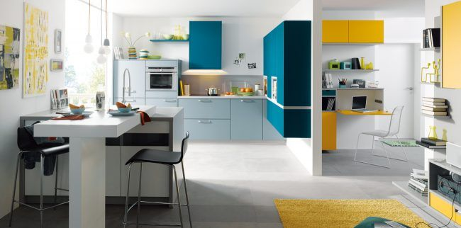 Fabulous Sch ller M belwerk KG glasline G Glas mat kristalwit Keuken Pinterest Kitchens and Contemporary