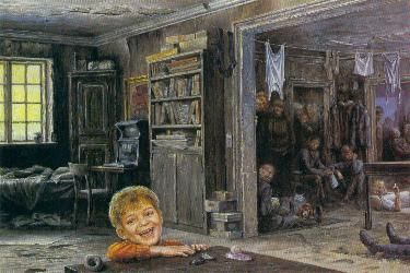 OTTO FRELLOS MALERIER: Det Glade Barn