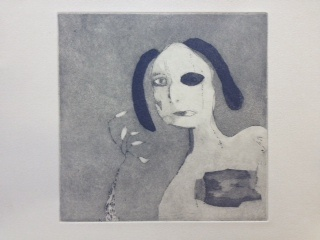 Margaret Manchee's Girl with five chillies...