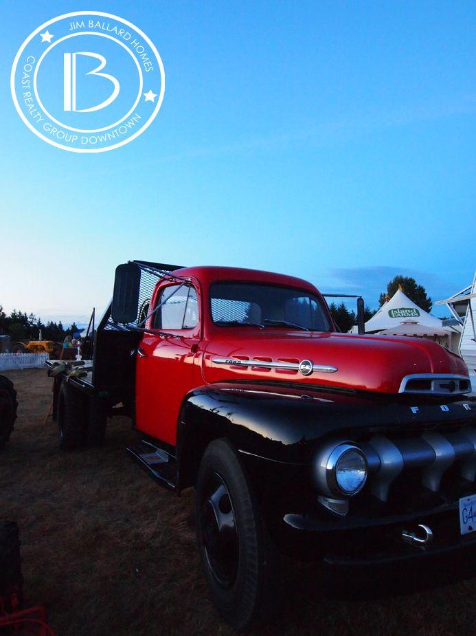 Vintage Ford Truck. 2013 VIEx. Nanaimo. Vancouver Island.