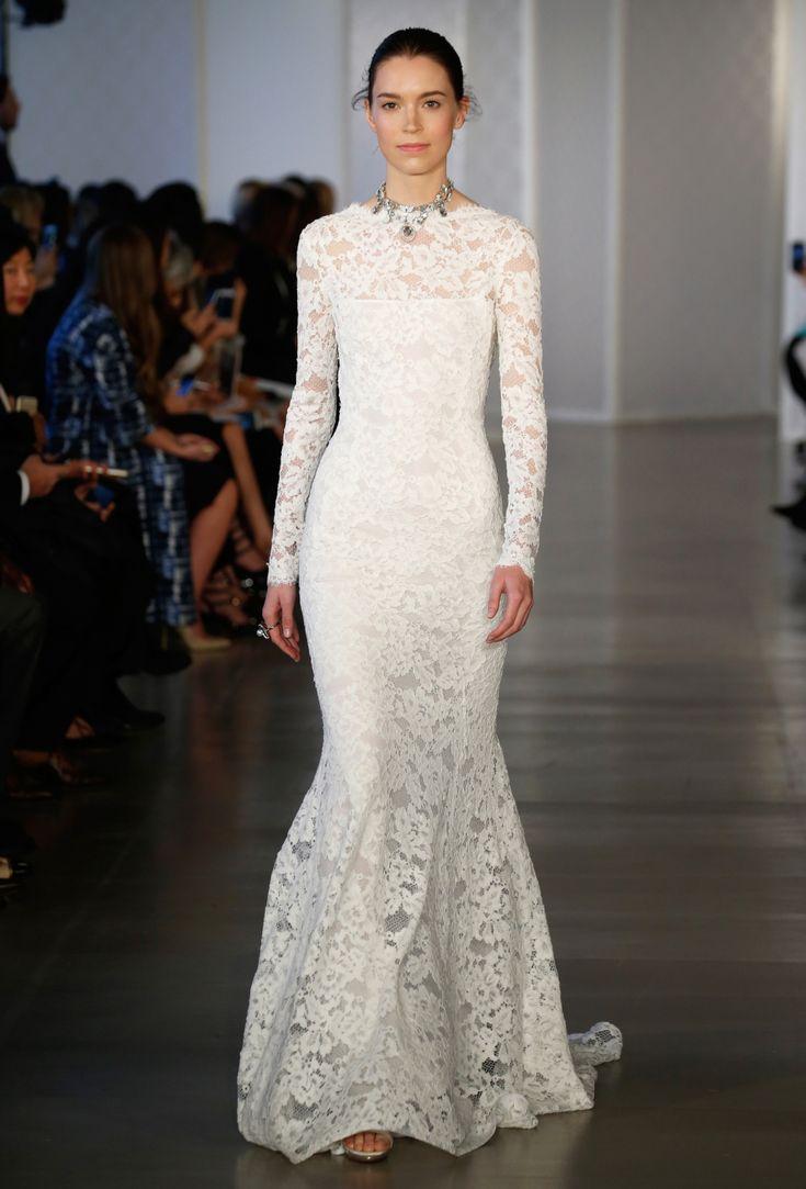 17 Best Ideas About Oscar De La Renta Wedding Gowns On Pinterest