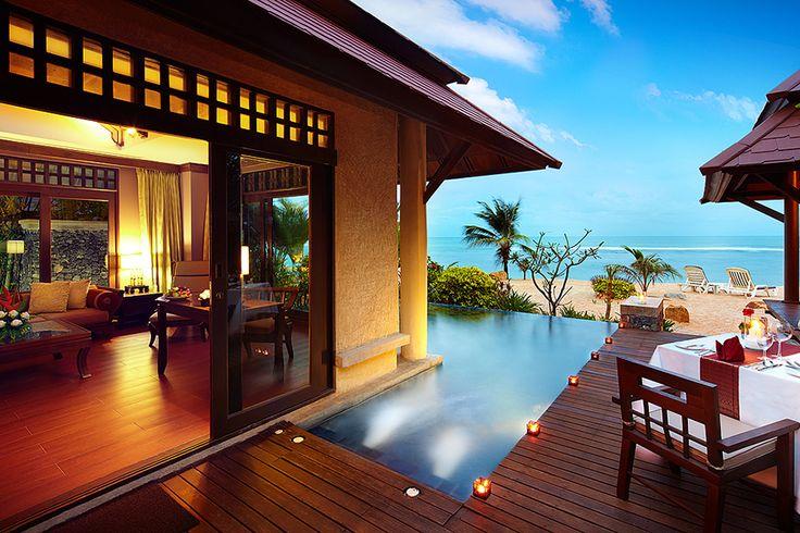 Nora Beach Resort  - Beachfront Pool Villa Suite. Visit them on stand 39.