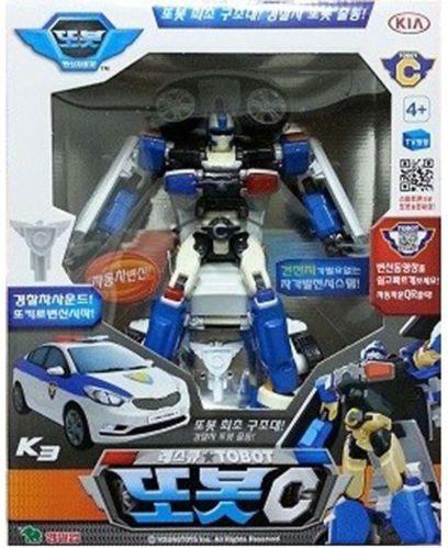 TOBOT C Police Car Transformer Robot Kid Toy Children Action Figure TV Animation
