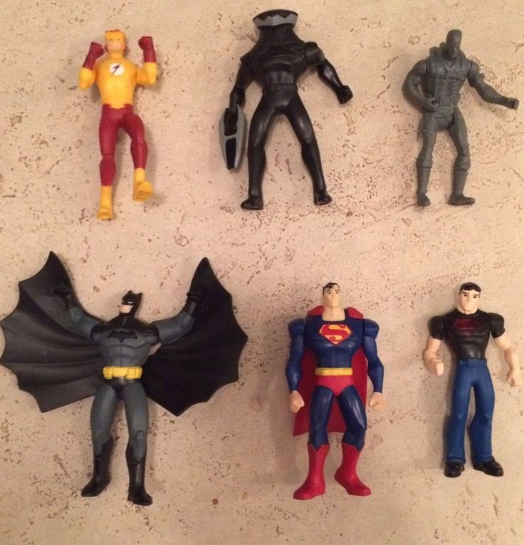 Lot Of 6 #Collectible McDonald Action Figures (Batman, Superman etc...) | eBay  #Canada #Deals #Bargains