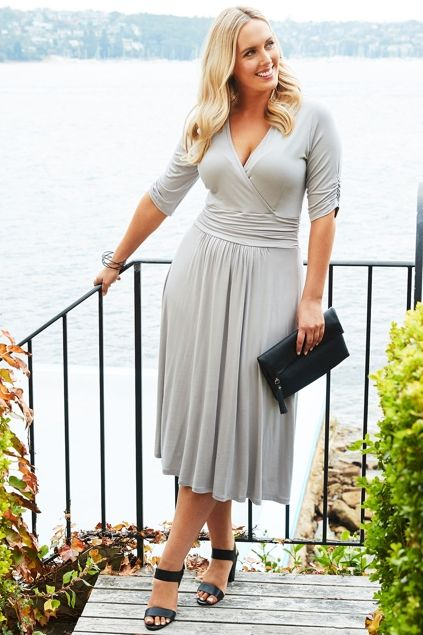 Belle bird Belle Jersey Dress - Womens Knee Length Dresses at Birdsnest