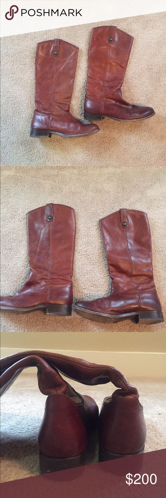 Frye Melissa Button Boots frye melissa button boots size 8.5 only worn a few times and they are in very good condition. ask me questions or send me offers!:) Frye Shoes