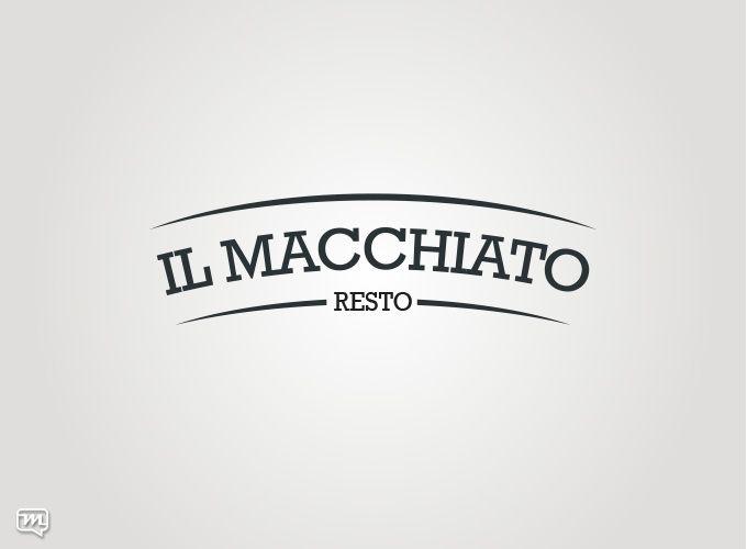 Logo Design for Il Macchiato Resto by Materia 360. Graphic Design
