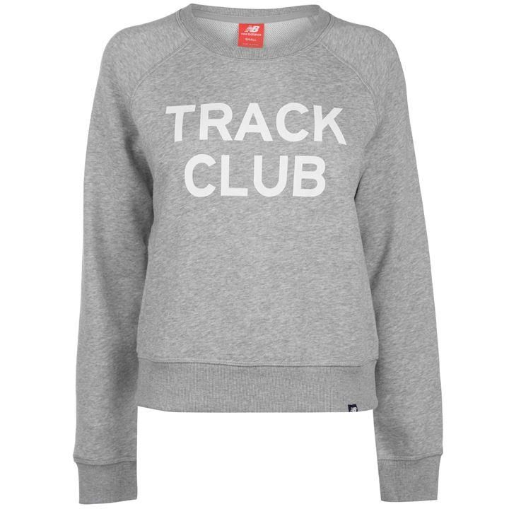 7097a27d5c0fd New Balance Track Club Crew Neck Sweatshirt | Premium Sweatshirt - House of  Fraser