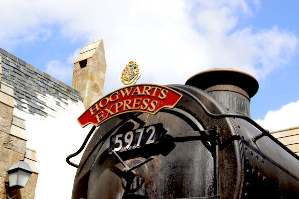 Expresso de Hogwarts - Parque do Harry Potter