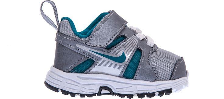 NIKE - Βρεφικά παπούτσια NIKE DART 10 (TDV) γκρι #moda #style #sales
