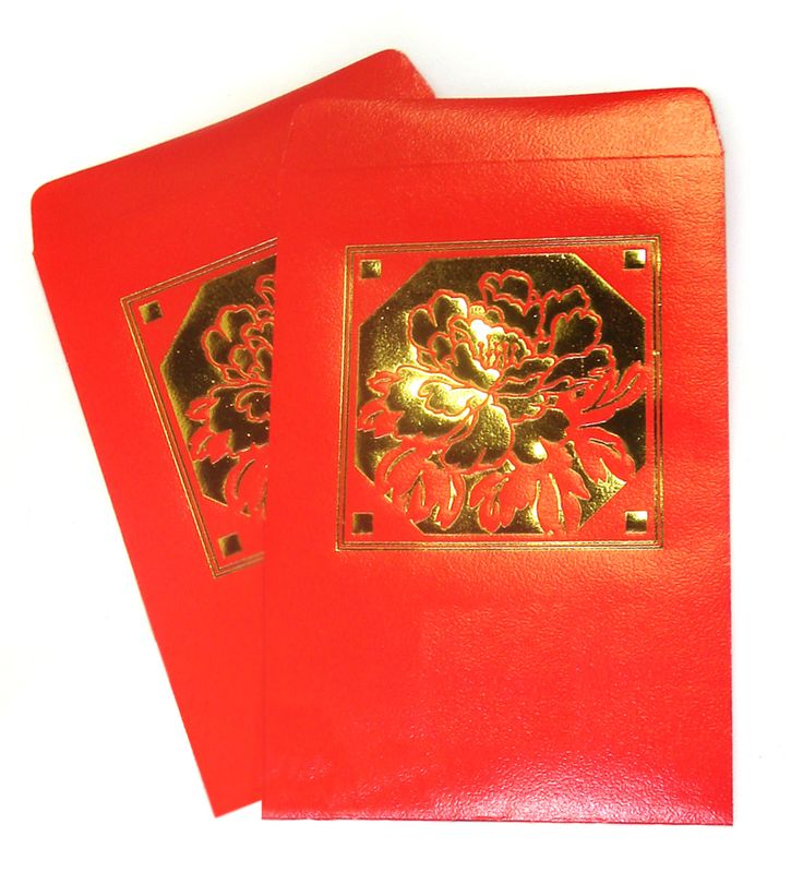 These red pocket envelopes are perfect to fill with anything you like!